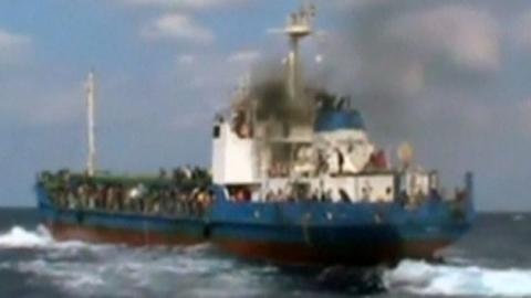 '죽음의 바다' 지중해서 난민선 또 침몰
