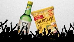 [한컷뉴스] 순하리와 허니버터칩의 대박 공식 '경쟁하지마'