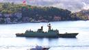 中 군함, 러시아와 합동 훈련차 흑해 첫 진입