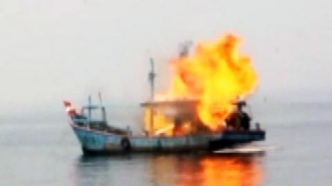 인도네시아, 불법어로 외국 선박 41척 침몰시켜