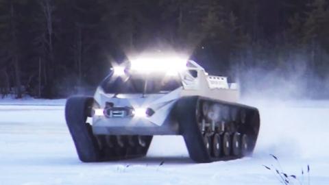 '인간을 지키는' 로봇 탱크·로봇 경비 무인 기술