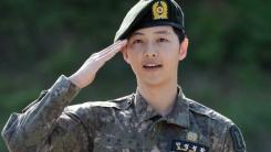'전역' 송중기, '태양의 후예'로 돌아온다