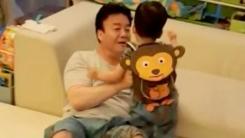 소유진 '아들 바보' 남편 백종원 일상 공개