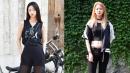 여름에도 포기할 수 없는 올블랙 패션! 모델 권지야&신혜진의 스타일링 제안