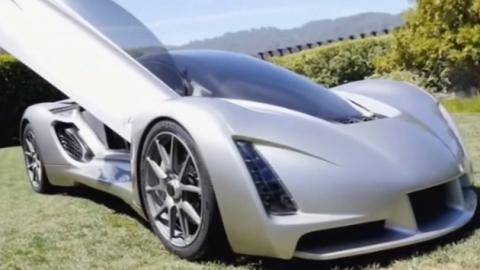 '700마력 엔진' 3D 프린터로 만든 '슈퍼카'