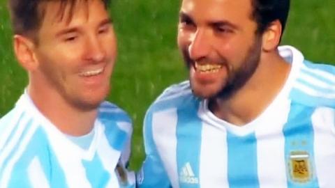 메시 도움 해트트릭…아르헨티나 결승행