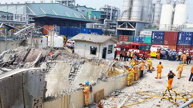 [속보] 한화케미칼 폭발 사고…4명 사망·2명 실종