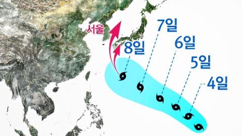 다음 주 장마전선·태풍 북상…태풍 진로는?