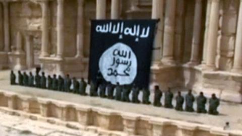 """IS, 시리아군 집단 처형 공개…""""어린이가 총살"""""""
