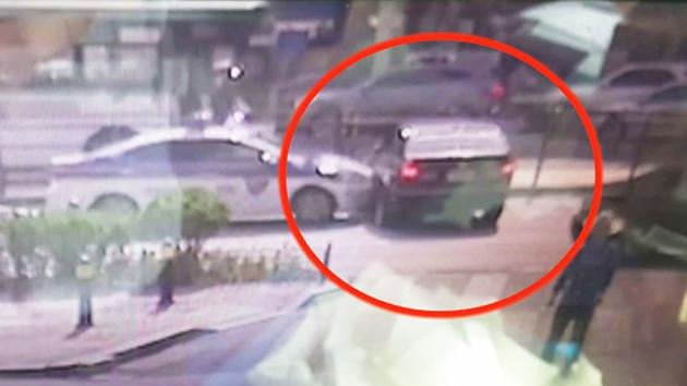 [단독 영상] 경찰과 무면허 운전자의 '도심 추격전'