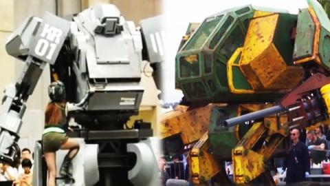 美·日 거대 전투 로봇, 1:1 결투 벌인다