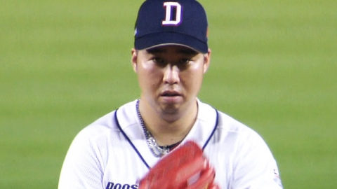 유희관, 시즌 13승…다승 단독 선두