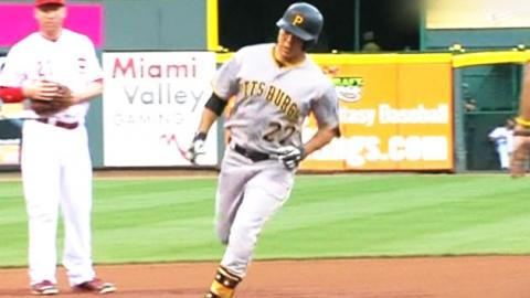 강정호의 시원한 '시즌 8호' 홈런…팀은 패배