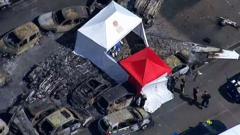 빈 라덴 가족 탑승 추정 비행기 추락 '4명 사망'