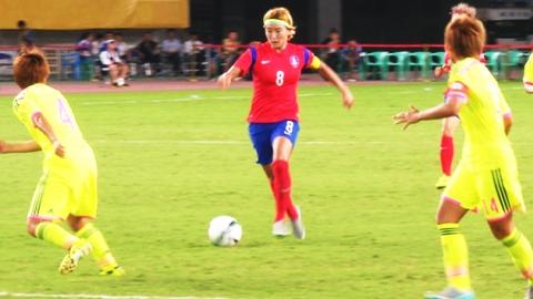여자축구, '숙적' 일본에 짜릿한 역전승