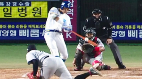 삼성, LG에 '8점 차 뒤집기' 대역전극