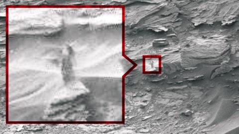 저게 뭐지?…NASA도 설명 못한 화성 탐사 사진