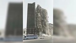 '이슬람 최대 성지' 메카서 순식간에 건물 붕괴