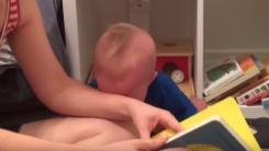 '으아아앙' 책만 덮으면 우는 독서왕 아기