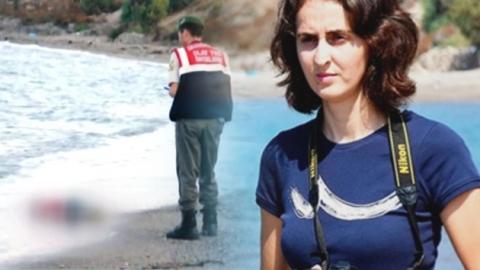 '3살 난민' 마지막 모습 세상에 알린 女기자
