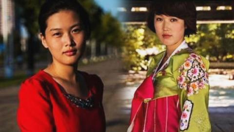 수수해서 더 아름다운 '북한의 미녀들'