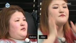 """이국주, 드라마틱한 메이크업 전후 """"나도 화장발"""""""
