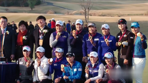 'LPGA가 더 강했다'…유소연·박성현 MVP