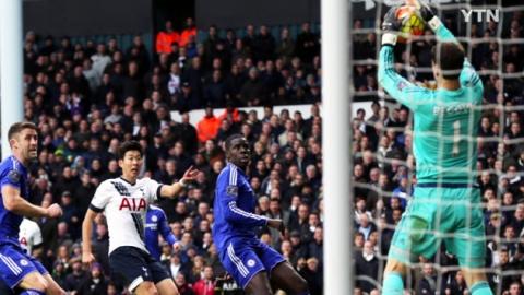 손흥민 75분 출전…토트넘, 첼시와 0대 0 무승부