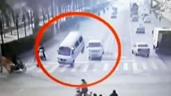 중국서 벌어진 기이한 교통사고…'혹시 유령?'