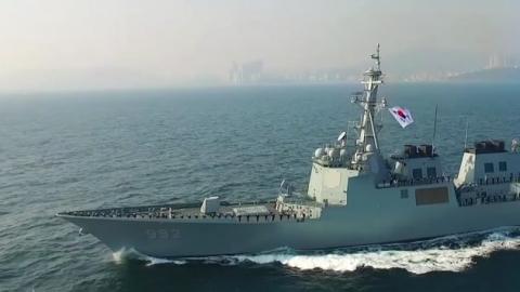 日, 한국 해군 봉쇄 의도…대한해협 주변 군사력 증강