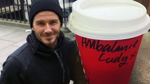 베컴이 건넨 '커피 한 잔'의 기적