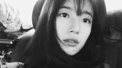 """""""불변의 청순함"""" 수지, 셀카로 근황 공개"""