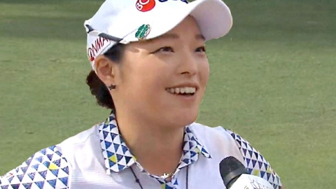 장하나, 코츠 챔피언십서 LPGA 데뷔 첫 우승