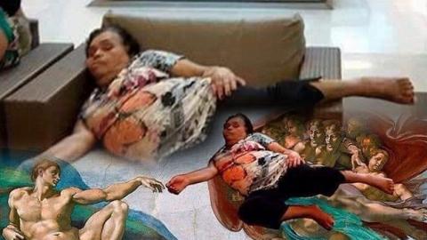'잠만 잤을 뿐인데…' 하루아침에 스타 된 할머니