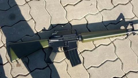 '앞차 급제동' 홧김에 모의총기 겨냥 위협