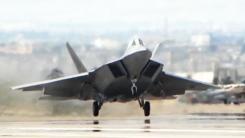 최강 스텔스 전투기 F-22, 오늘 한반도 긴급출동