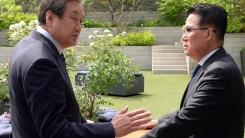 [인물파일] 김무성-박지원 비밀 환담...어떤 이야기 오갔나?