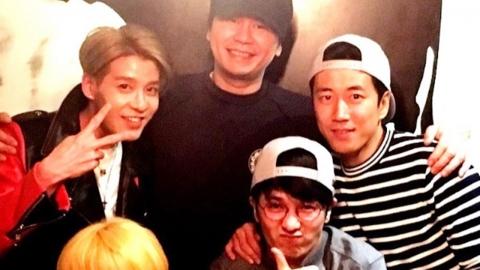 """YG 수장 양현석, 젝스키스와 회동…""""포레버 젝키"""""""