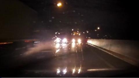 [영상] 만취해 10km '역주행'…아수라장 된 고속도로