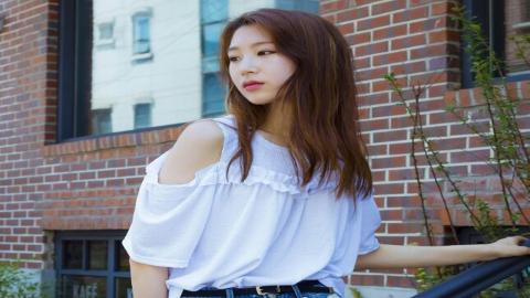 대세는 오프숄더! 모델 송선민의 스타일링 포인트는?