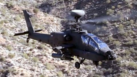 軍, 최신형 아파치 공격헬기 4대 첫 실전배치