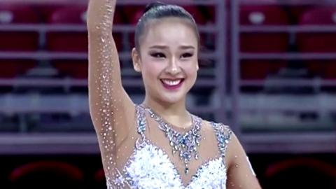 손연재, 곤봉 금메달…리우 올림픽 청신호