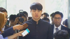 """유상무, 경찰 출석…""""심려 끼쳐 죄송…명백히 밝힐 것"""""""