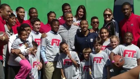 '농구광' 오바마 美 대통령, NBA 구단주로 제2의 인생?