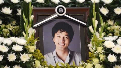 故 김성민, 동료·가족들의 배웅 속에 마지막 길을 걷다