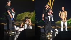 빈지노 콘서트서 딸 안고 강아지 2마리와 등장한 양동근