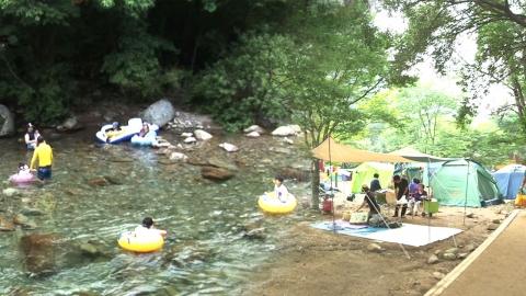 캠핑 마니아가 추천하는 여름휴가 캠핑 명소는?