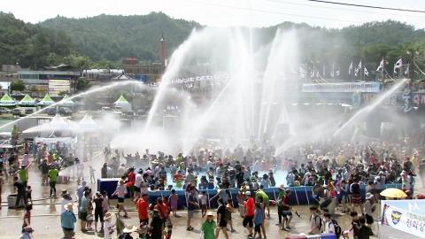 물놀이 축제 끝판왕…정남진 장흥 물 축제