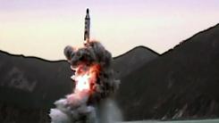"""北 SLBM 1발 시험 발사...""""한반도 안보 심각한 도전"""""""