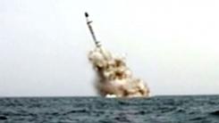北 동해상으로 SLBM 1발 시험발사...500km 비행